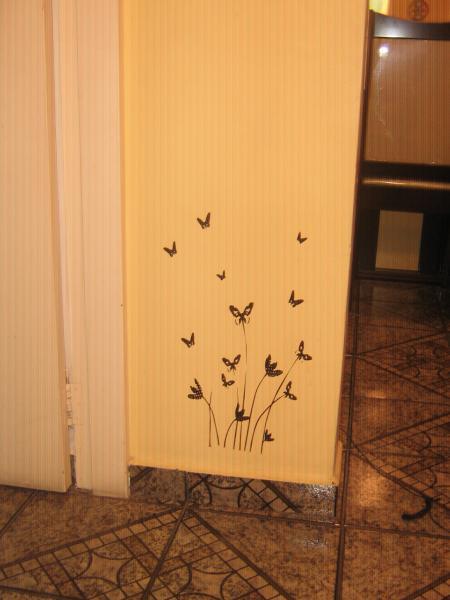 Artesanato Valença Rj ~ Adesivo de Parede Borboletas Flores Flad Art Impress u00e3o digital