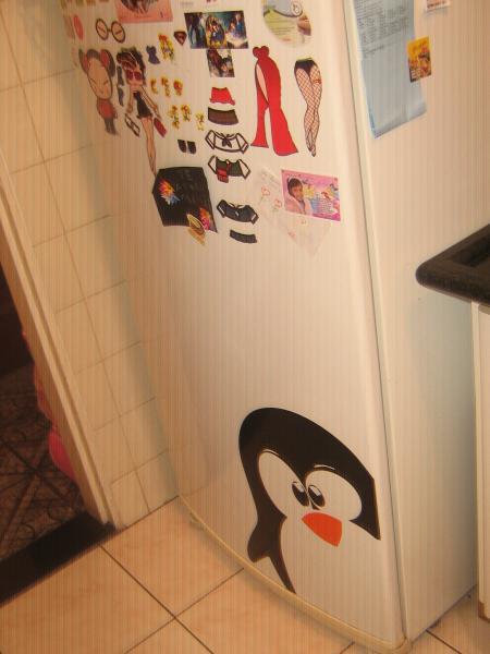 Adesivo Rivastigmina Bula ~ Adesivo de Parede Pinguim Geladeira Flad Art Impress u00e3o digital